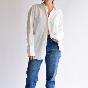 Vintage white dress shirt